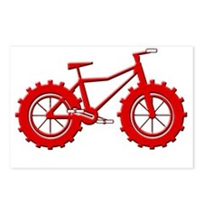 Fatbike Red Postcards (Package of 8)
