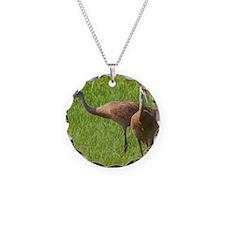Sandhill Crane Necklace