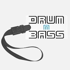 Drum N Bass Luggage Tag