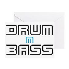 Drum N Bass Greeting Card