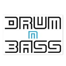 Drum N Bass Postcards (Package of 8)