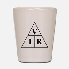 OHM's Law Triangle Shot Glass