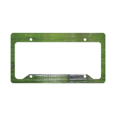 Loon at Peace License Plate Holder
