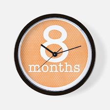 8 Wall Clock