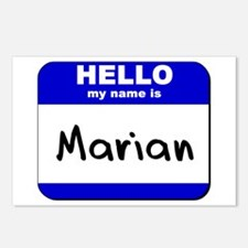 hello my name is marian  Postcards (Package of 8)