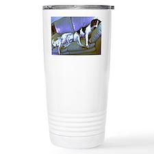 hard to be a dog Travel Mug