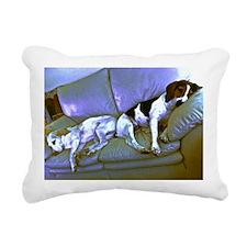 hard to be a dog Rectangular Canvas Pillow