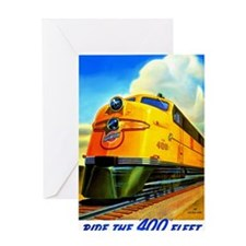 Ride the 400 Fleet Greeting Card