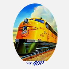 Ride the 400 Fleet Oval Ornament