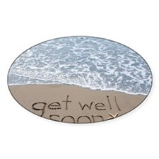 get well Decal