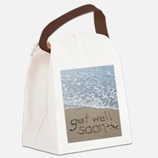 get well Canvas Lunch Bag