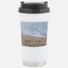 get well Stainless Steel Travel Mug
