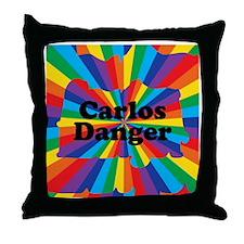 Carlos Danger (small) Throw Pillow