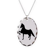 Saddlebred Necklace Oval Charm
