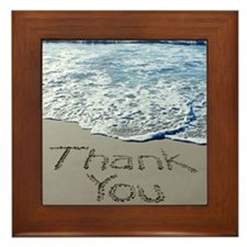 thank you Framed Tile