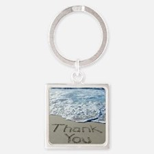 thank you Square Keychain