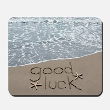 good luck Mousepad