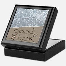 good luck Keepsake Box
