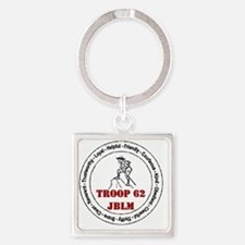 troop 62 Square Keychain