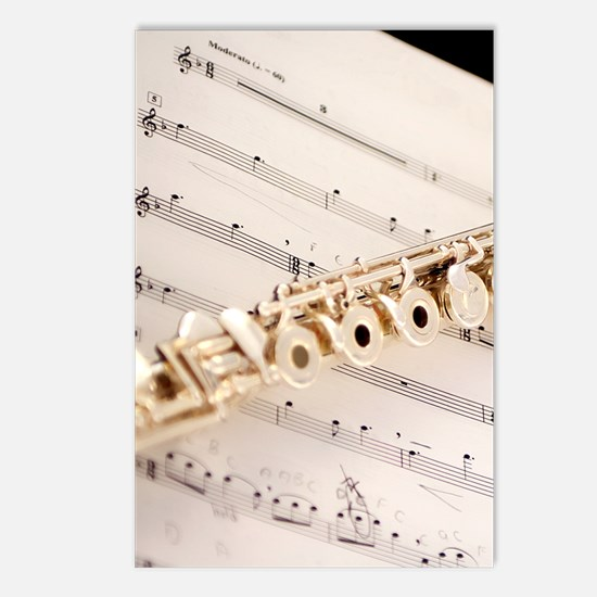 Flute and Music Postcards (Package of 8)