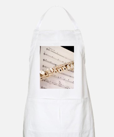 Flute and Music Apron