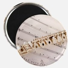 Flute and Music Magnet