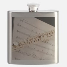 Flute and Music Flask