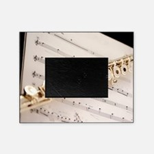Flute and Music Picture Frame