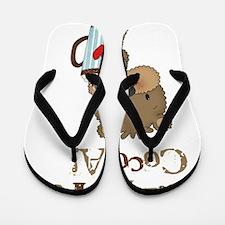 Boy Bear Crazy for Cocoa Flip Flops