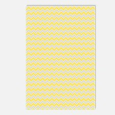 Chevron Zigzag Pattern Gr Postcards (Package of 8)