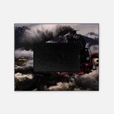 Steampunk Train Picture Frame
