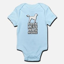 Bark Less Wag More Body Suit