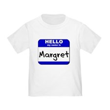 hello my name is margret T