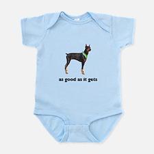 Good Doberman Pinscher Photo Infant Bodysuit
