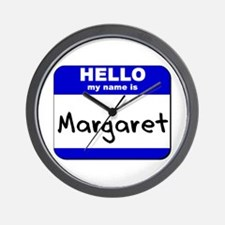 hello my name is margaret  Wall Clock