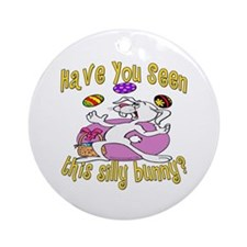 Silly Bunnies Ornament (Round)