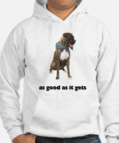Brindle Great Dane Photo Hoodie