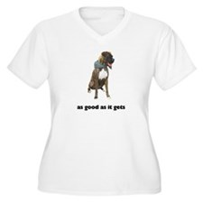 Brindle Great Dane Photo T-Shirt