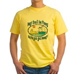 Bunny, Duck and Boat Yellow T-Shirt