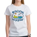Bunny, Duck and Boat Women's T-Shirt