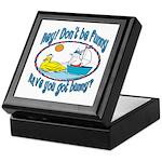 Bunny, Duck and Boat Keepsake Box