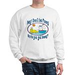 Bunny, Duck and Boat Sweatshirt