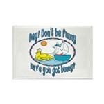 Bunny, Duck and Boat Rectangle Magnet (10 pack)