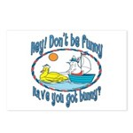 Bunny, Duck and Boat Postcards (Package of 8)