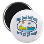 Bunny, Duck and Boat Magnet