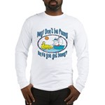 Bunny, Duck and Boat Long Sleeve T-Shirt