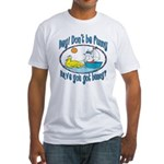 Bunny, Duck and Boat Fitted T-Shirt