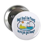Bunny, Duck and Boat Button