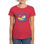 Bunny, Duck and Boat Women's Dark T-Shirt