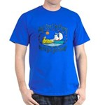 Bunny, Duck and Boat Dark T-Shirt